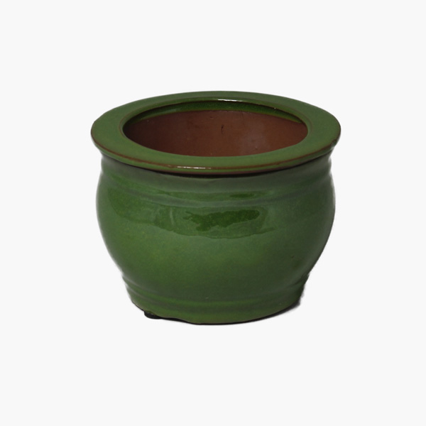 "8"" Self-watering Ceramic Pots"