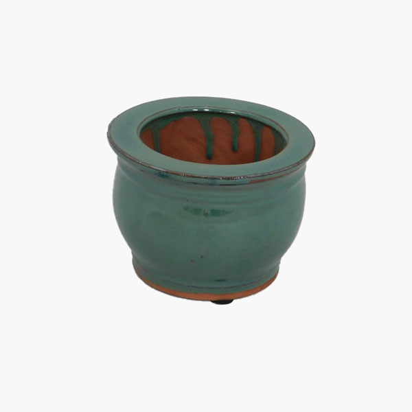 "5"" Self-watering Ceramic Pots"